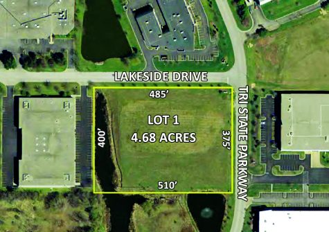 4.68 Acres Lot 1   740 Tri State Parkway Gurnee, Illinois