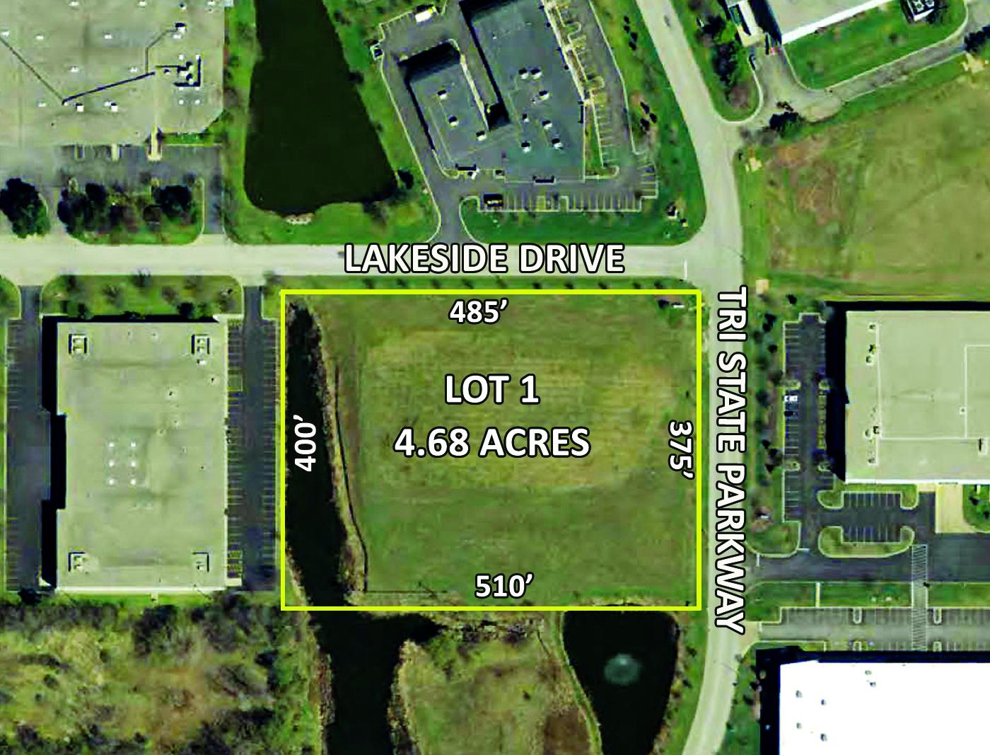 4.68 Acres Lot 1   740 Tri State Parkway Gurnee, Illinois