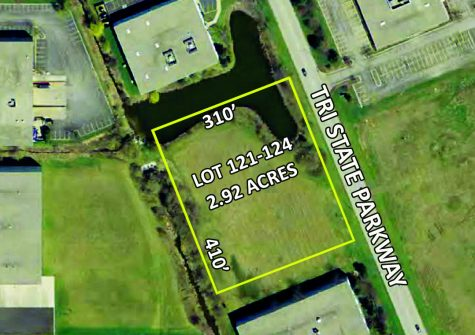 2.92 Acres Lot 121-124  1050 Tri State Parkway  Gurnee, Illinois