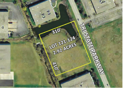 2.92 Acres Lots 121-124, Grand Tri State Business Park, Gurnee, IL