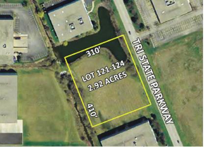 2.92 Acres Lots 121-124, Grand Tri State Business Park, Gurnee, IL